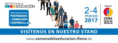 Os esperamos en la semana de la educación en IFEMA