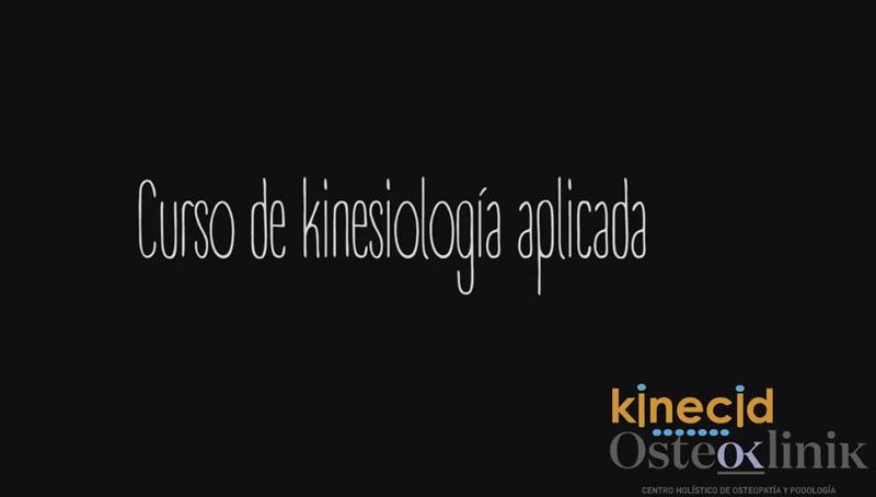 «KINESIOLOGÍA APLICADA» Nuevo curso de Erik García Kristensen,